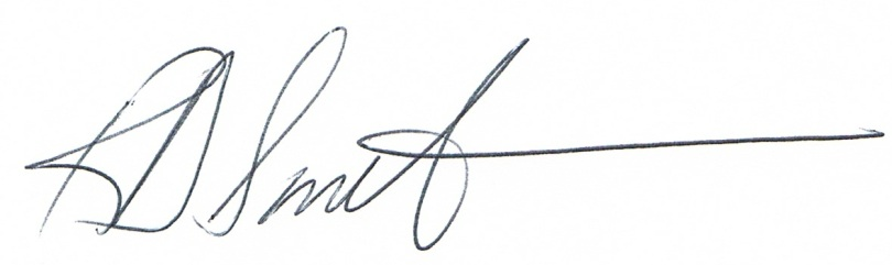 Ron Smith signature